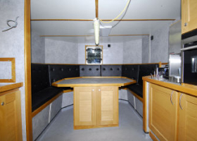 SW3 Galley  Mess deck Lights still to be complete