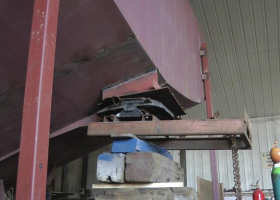 A tow coupling has also been fitted to the accommodation section