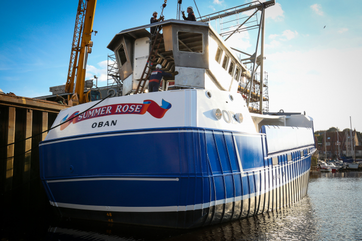 Naming ceremony symbolises fishing industry optimism